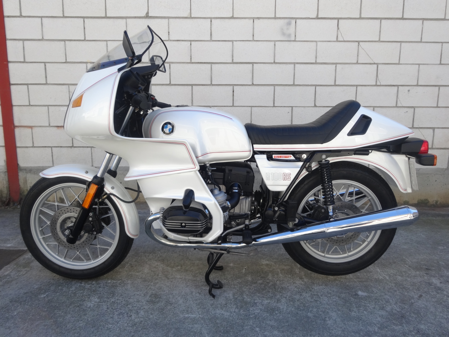 moto Bmw R100RS (año 1982)